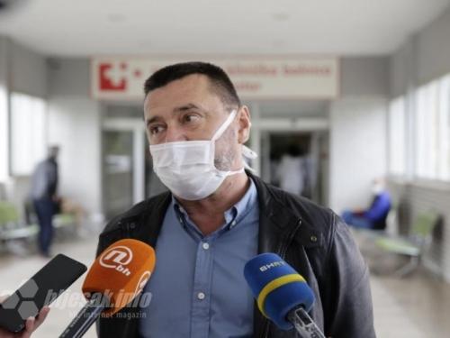 Kvesić: Priprema se COVID bolnica na Bijelom brijegu