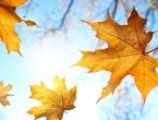 Iznadprosječno topla i suha jesen sve do polovine listopada