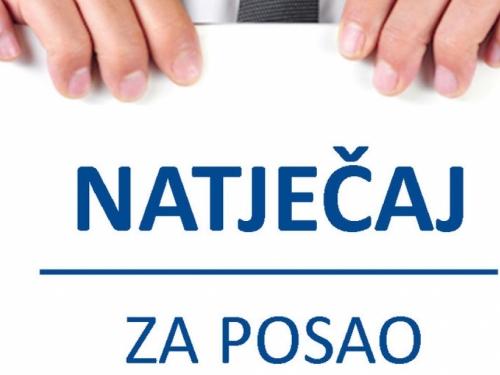 Natječaj za posao u JU Kulturno-športski centar Prozor-Rama