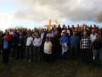 Dario Kordić na proslavi Dana 3. bojne brigade Rama na Uzdolu