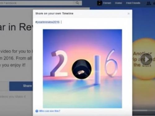 Ne nasjedajte na lažni pregled godine na Facebooku