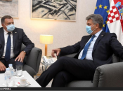 Dodik u Zgrebu upozorio na majorizaciju i marginalizaciju Hrvata i Srba