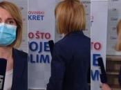Novinarka HRT-a onesvijestila se u Dnevniku u javljanju uživo