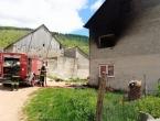 Požar na obiteljskoj kući u Ravnom