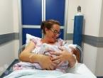Prva beba u HNŽ mala Erika iz Rame