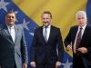 Okončan sastanak Čovića, Dodika i Izetbegovića u Sarajevu, dogovoreno - ništa