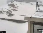Snijeg zabijelio vrhove Vran planine i Čvrsnice