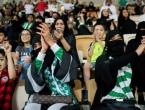 Ženama u Saudijskoj Arabiji dopušteno da nazoče nogometnoj utakmici