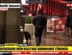 Maskirani napadači u Švedskoj napali sinagogu zapaljivim bombama
