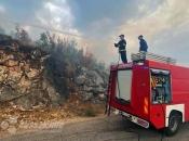 Kiša popravila stanje na požarištu u Jablanici