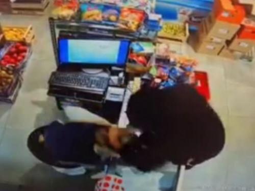Konjic: Radnica aktivirala alarm i otjerala razbojnika