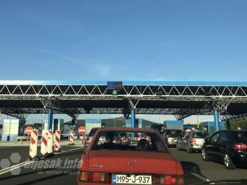 Pojačan promet na GP Doljani, Hum, Velika Kladuša i Izačić