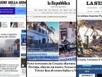 Treslo se sve do Napulja: Potres u Petrinji izazvao strah diljem Italije, službe zatrpane pozivima