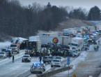 Snježna oluja u SAD-u: U lančanom sudaru sudjelovalo više od 80 vozila