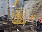 Teška nesreća na gradilištu autoceste: Pala korpa s radnicima