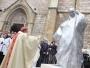 U Sarajevu oštećen kip pape Ivana Pavla II