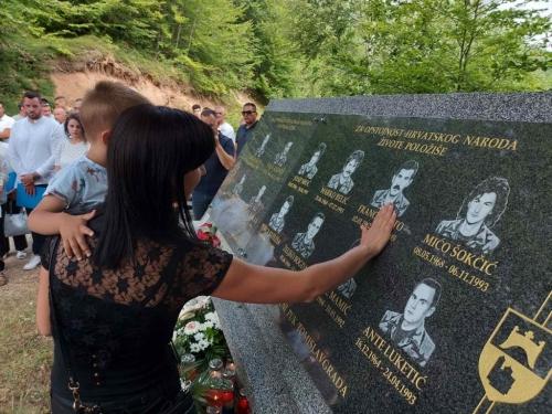 FOTO: Na Pomenu obilježena 28. obljetnica stradanja hrvatskih branitelja