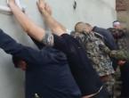 VIDEO: Napadače postrojili uza zid