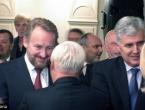 Izetbegović: Nema vremena za gubljenje; Čović: Vratiti osmijeh na lica ljudi