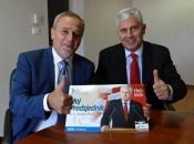 Milan Bandić iskazao potporu kandidatu dr. Draganu Čoviću