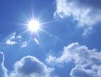 Danas sunčano uz umjerenu oblačnost