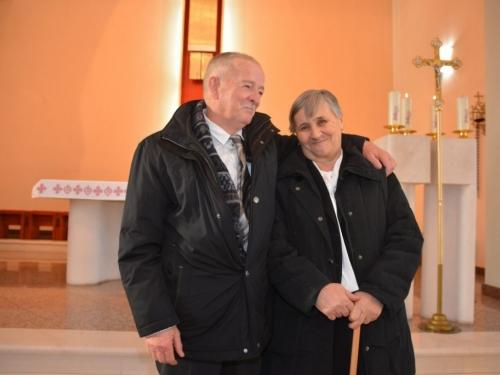 Zlatni pir: Jure i Anica Galić proslavili 50 godina braka