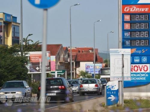 Cijene goriva u svijetu padaju, a kod nas stoje