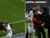Igrač Eintrachta udario trenera Freiburga pa nastala opća tučnjava