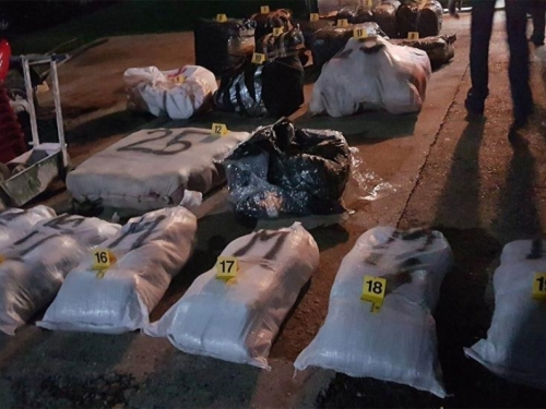 Pronađena droga u Čapljini, blokiraju se ceste