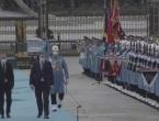 Članovi Predsjedništva BiH u posjeti Turskoj, Dodik pozdravio gardu: ''Merhaba asker''