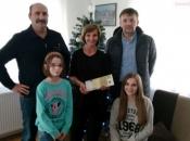 Predstavnici organizacijskoga odbora 'Ramske noći' posjetili obitelj Gudelj u Vedašiću