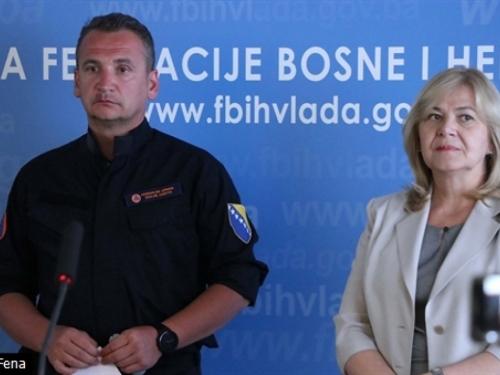 Milićević: Financijski ćemo pomoći ugroženima od požara u Hercegovini