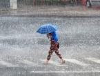 Upaljen narančasti meteoalarm: Upozorenje na jaku kišu