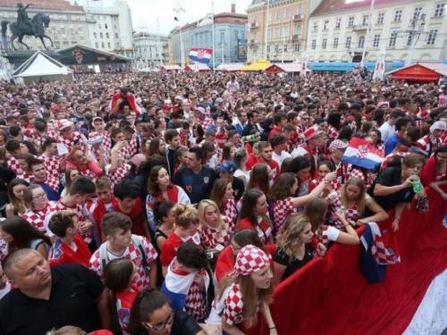 Za ''Vatrene'' doček na Trgu bana Jelačića, a potom i odlikovanja