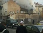 Požar u blizini katedrale Srca Isusova u Sarajevu