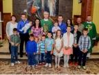 Mlada obitelj: Krstili sedmo dijete, a imaju 34 i 31 godinu