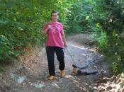 Herojska borba žene iz Busovače: Vozi drva uz pomoć lanca