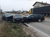Mrkodol: U prometnoj nesreći ozlijeđene četiri osobe