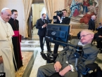 Susreli se papa Franjo i Stephen Hawking