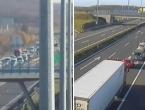 U sudaru šlepera i kombija na autocesti prema Karlovcu četvero poginulih