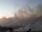 Kritično na požarištima u općini Tomislavgrad, unatoč pomoći kanadera!