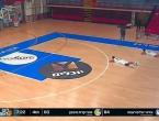 Pogledajte trenutak u kojem je raketni napad prekinuo košarkašku utakmicu