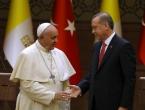 Erdogan putuje papi Franji u Vatikan