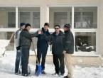 Foto: Spašavanje krova Srednje škole