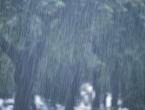 Poslijepodne i krajem dana kiša i pljuskovi