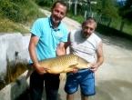 Zdenko iz Kiseljaka ulovio šarana od 11,5 kg