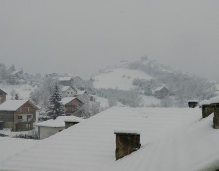 U Rami pada snijeg, glavne prometnice prohodne
