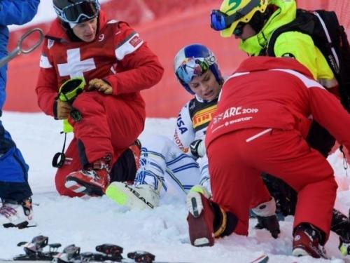 Težak pad najbolje skijašice svih vremena