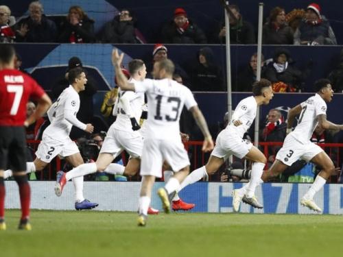 PSG razmontirao United na Old Traffordu, Roma slavila na krilima 19-godišnjaka
