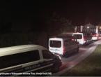 Šest policijskh marica upalo u Kulmerove dvore